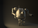 PBR Robot – Work in Progress from a personal concept